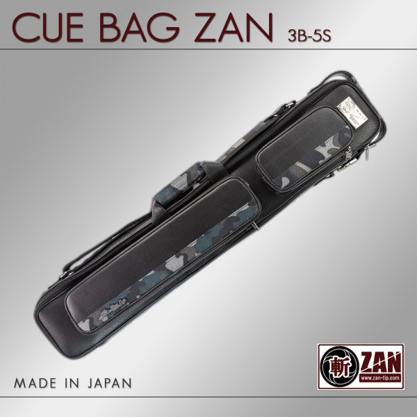 CUE BAG ZAN GRAY CAMO 3B 5S