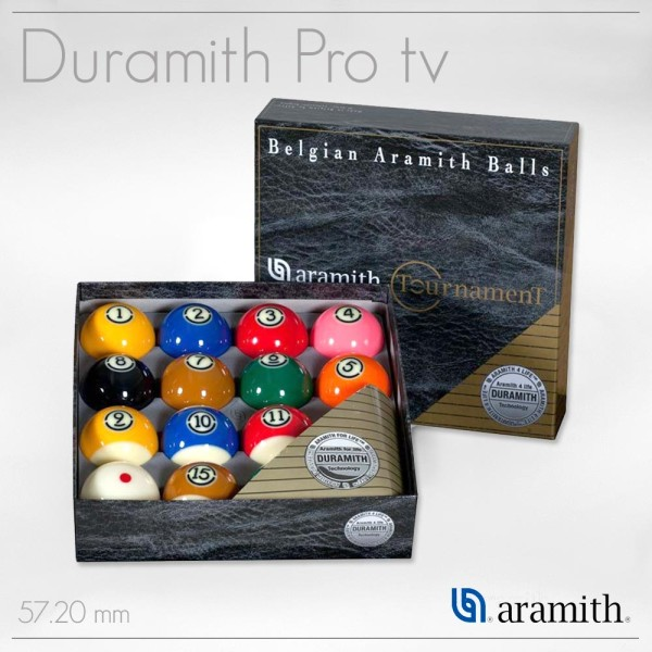Billiard Accessories Set Tournament Tv Duramith Pro Cup