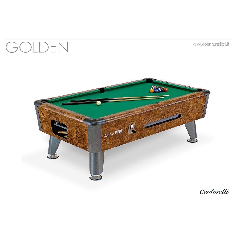 POOL TABLE GOLDEN 7u0027