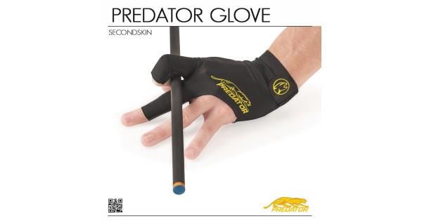 Gloves Pool Cue Glove Predator Second Skin Yellow