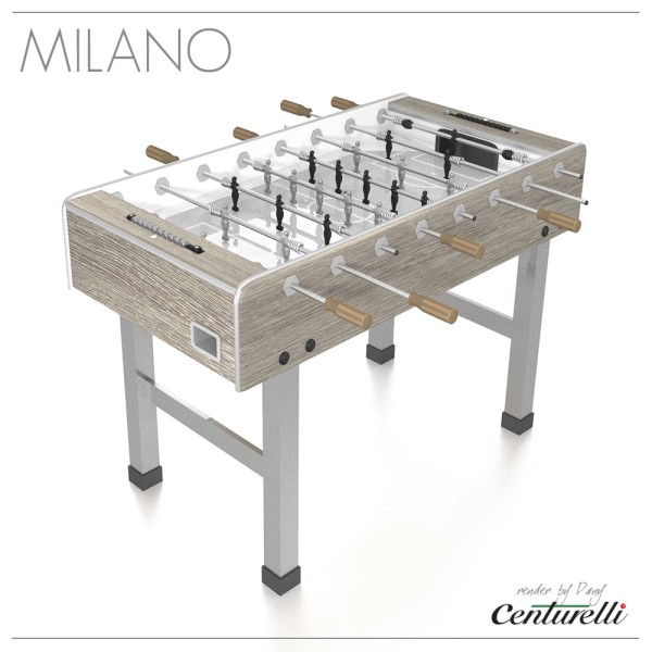 FOOSBALL TABLE MILANO CHIC